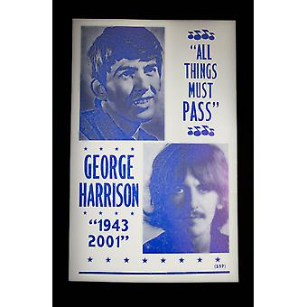 George Harrison plakat