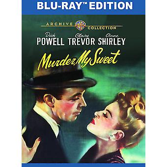 Mord My Sweet [Blu-ray] USA importere
