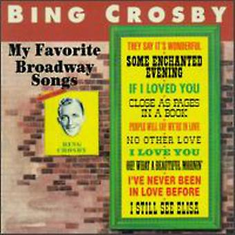 Bing Crosby - min favorit Broadway sange [CD] USA import