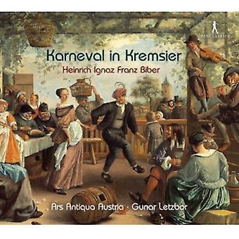 H. Biber - Heinrich Ignaz Franz Biber: Børnekarneval i import af Kremsier [CD] USA