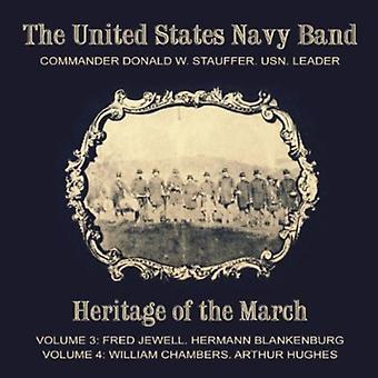 Jewell/Blankenburg, H.L./Chambers, W.P./Hughes, a.W. - arv af marts, Vols. 3 & 4 [CD] USA import