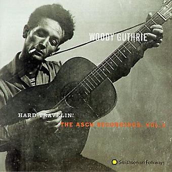 Woody Guthrie - Woody Guthrie: Vol. 3-Hard Travelin' [CD] USA import