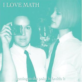 Jeg elsker matematik - at komme til punkt er Besideit [CD] USA importen