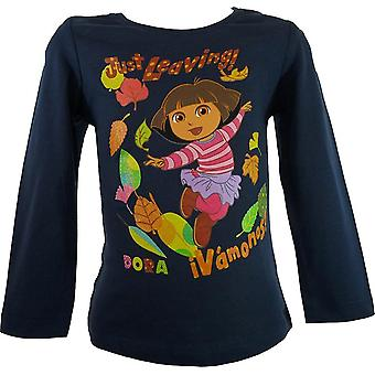 Girls Dora The Explorer Long Sleeve Top NH1296