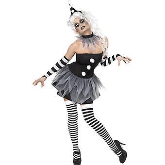 Clownkostüm horror ladies dress costume Halloween