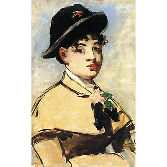 Edouard Manet - Woman with arms crossed Poster Print Giclee