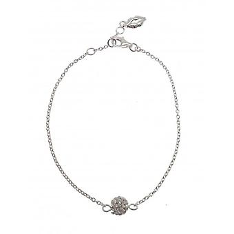 W.A.T Sterling Silber Kette Glitterball Armband