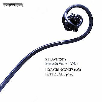 Stravinskij / Gringolts / Laul - Stravinskij: musik för Violin 1 [SACD] USA import