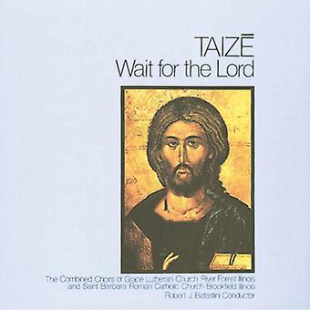 Taize - vente på Herren [CD] USA importen