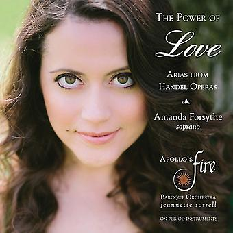 Handel / Apollo's Fire / Sorrell - Power of Love: Arias From Handel Operas [CD] USA import