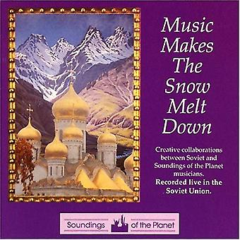 Musik gør sneen smelte - musik gør sneen smelte [CD] USA importerer