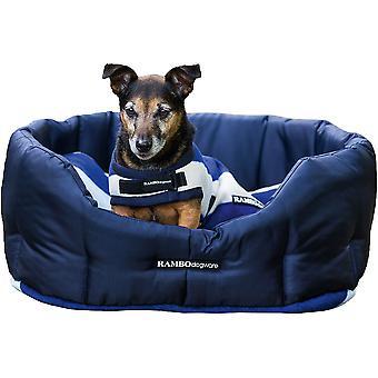 Rambo Deluxe Fleece Dog Bed