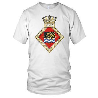 Royal Navy HMS Vivid Kids T Shirt