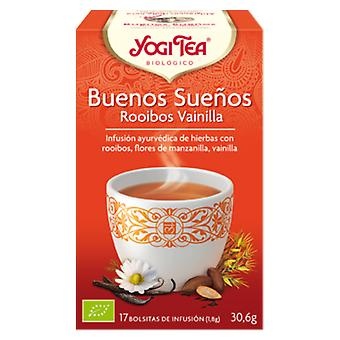 Yogi Tea Goodnight Rooibos Vanilla 17 Sachets (Diet)