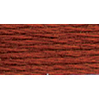 Dmc Tapestry & Embroidery Wool 8.8 Yards Darkest Red Brown 486 7447