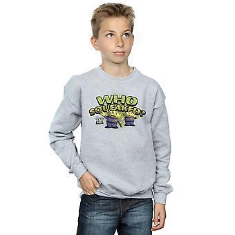 Meninos de Disney Toy Story quem chiou? Camisola