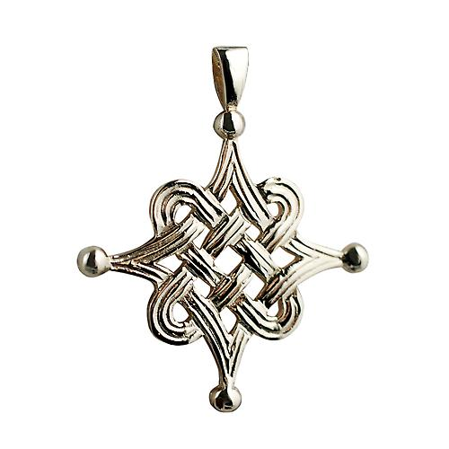9ct Gold 32x32mm Celtic Islamic design Pendant