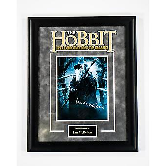The Hobbit - Signed by Ian McKellan - Framed Artist Series