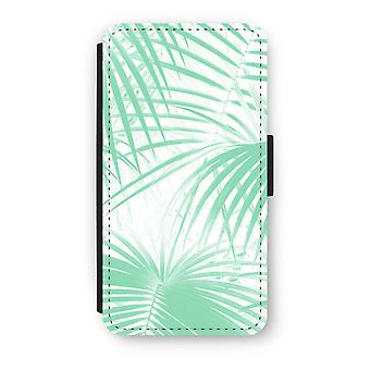 iPhone X Flip Case - Palm leaves