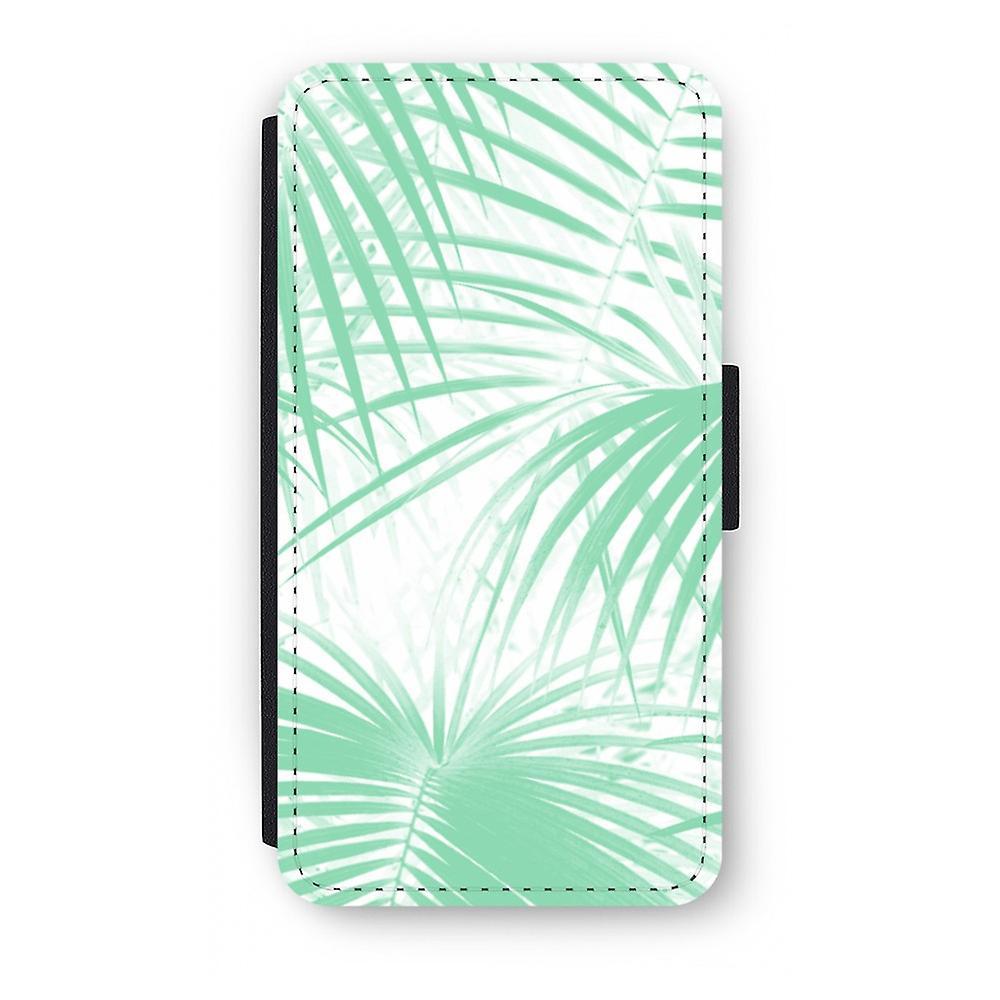 iPhone X Flip Case - Palm leaves