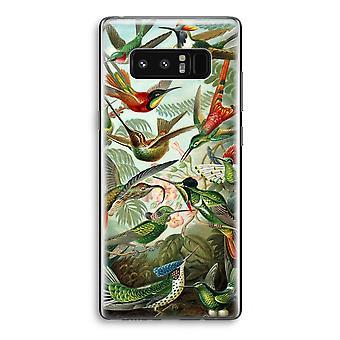 Samsung Galaxy Note 8 Transparant Case - Haeckel Trochilidae