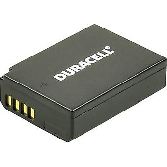 Camera battery Duracell replaces original battery LP-E10 7.4 V 1