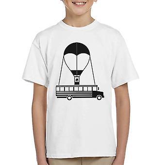 Party Bus Symbol Fortnite Kid's T-Shirt