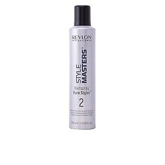 Revlon Style Masters Hair Spray ren Styler Medium stadga 325ml Unisex ny