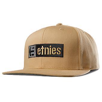 Tutti i cappelli Mix Box ETNIES Corp - senape