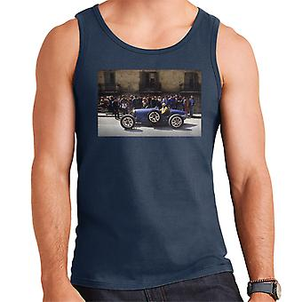 Bugatti Type 3 Racing Car Shot Men's Vest
