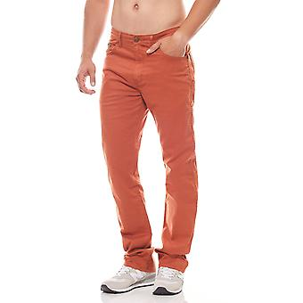 Wrangler mens jeans Arizona stretch Orange