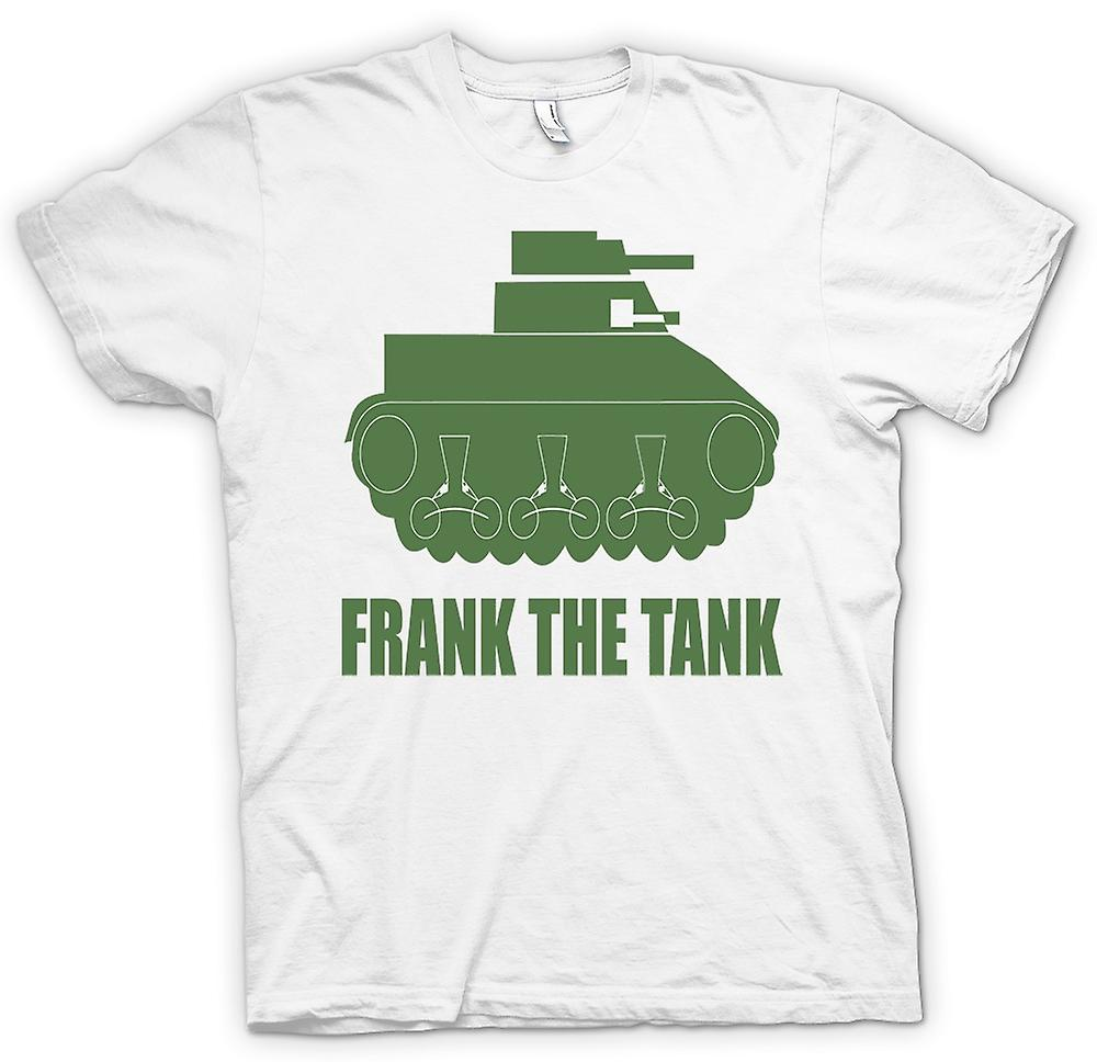Mens T-shirt - Frank The Tank - Quote