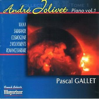 André Jolivet - Andr Jolivet: Pi Ces Pour Piano, Vol. 1 [CD] USA import