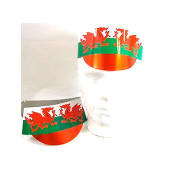 Au pays de Galles carton casquette - 5 par paquet