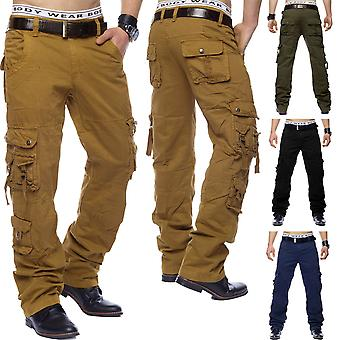 Cargo Pants Loose Regular Fit Cargo Pant Work Trousers (various colors)