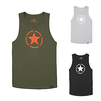 Alpha industries men's tank top star