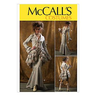 Misses' Jacket, Bustle/Capelet, Skirt and Pants-12-14-16-18-20 -*SEWING PATTERN*