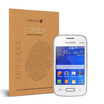 Celicious Impact Anti-Shock Shatterproof Screen Protector Film Compatible with Samsung Galaxy Pocket 2