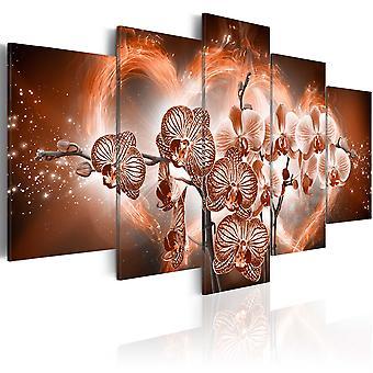 Canvas Print - Love orchids