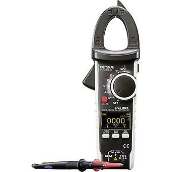 VOLTCRAFT VC-590OLED Clamp meter Digital Calibrated to: Manufacturer's standards (no certificate) OLED display CAT III 6