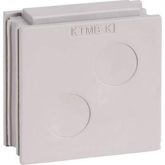 Icotek KTMB-K Cable grommet Terminal Ø (max.) 18 mm Elastomer Grey 1 pc(s)