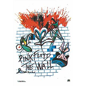 Pink Floyd The Wall Large Fabric Poster/ Flag 1100Mm X 750Mm