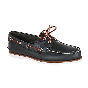 Timberland Earthkeepers classic boat shoe leather boat shoes Navy