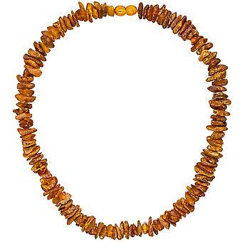 Chain necklace amber amber necklace amber necklace 45 cm necklace