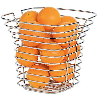 Blomus basket SONORA, steel wire, chrome plated