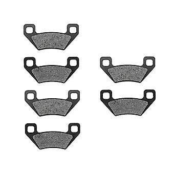 KMG 2010-2011 Arctic Cat 300 2X4 Front + Rear Non-Metallic Organic NAO Brake Pads Set
