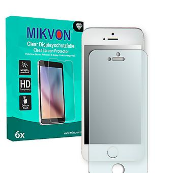 Apple iPhone 5C Screen Protector - Mikvon Clear (retailpakket met toebehoren)
