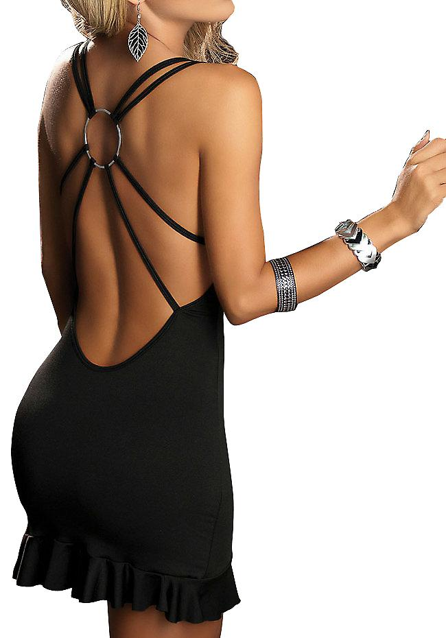 Waooh - Lingerie - Sexy Club Dress Black