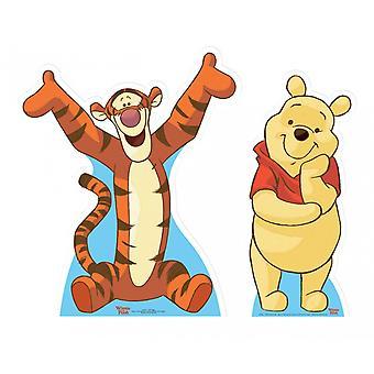 Winnie the Pooh and Tigger Lifesize Cardboard Cutout / Standee Set