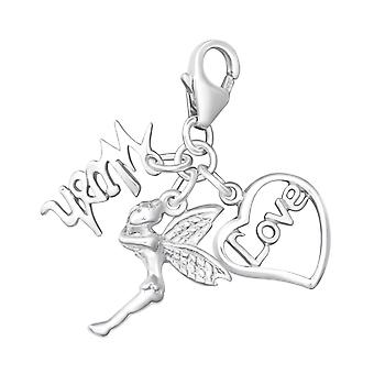 Fairy - 925 Sterling Silver Charms with Lobster - W7953X